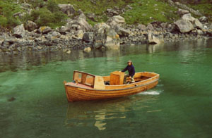 Boat heading to Loch Coruisk