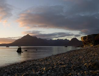 Elgol over the sea