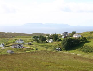 Elgol from the hills