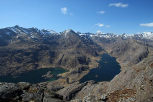 Loch Coruisk from the hills