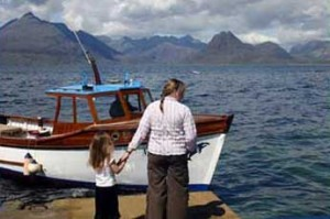 Misty Isle Boat Trips sailing from Elgol