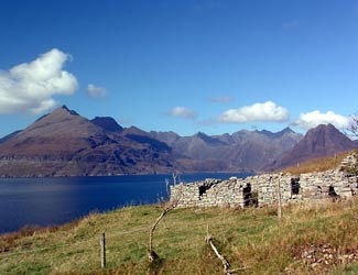 From Elgol to the Cuillin Hills