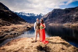 Skye weddings at Loch Coruisk